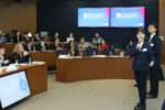 High school teams compete at the Region 1 KWHS Investment Competition Semifinals in Beijing